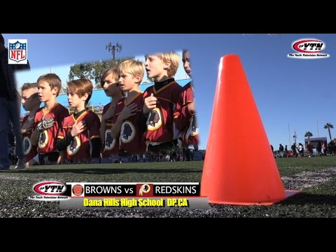 NFL Flag Football Browns vs Redskins Highlight Feature