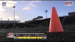 NFL Flag Football Best of Week #4 Cowboys/Steelers * Raiders/Redskins