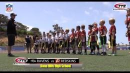 NFL Flag Football Super Bowl – Redskins Ravens Get After It!