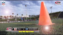 Northwest Rival – 49ers and Seahawks NFL Flag Football
