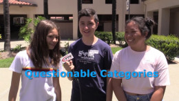 Game Show – Matthew, Mia and Abbey