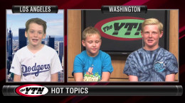 Hot Topics – with Connor, Mateo and Reece